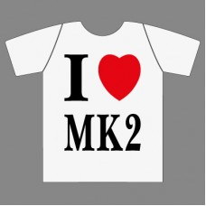 I luv MK2 t-paita